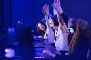People Play Games Online