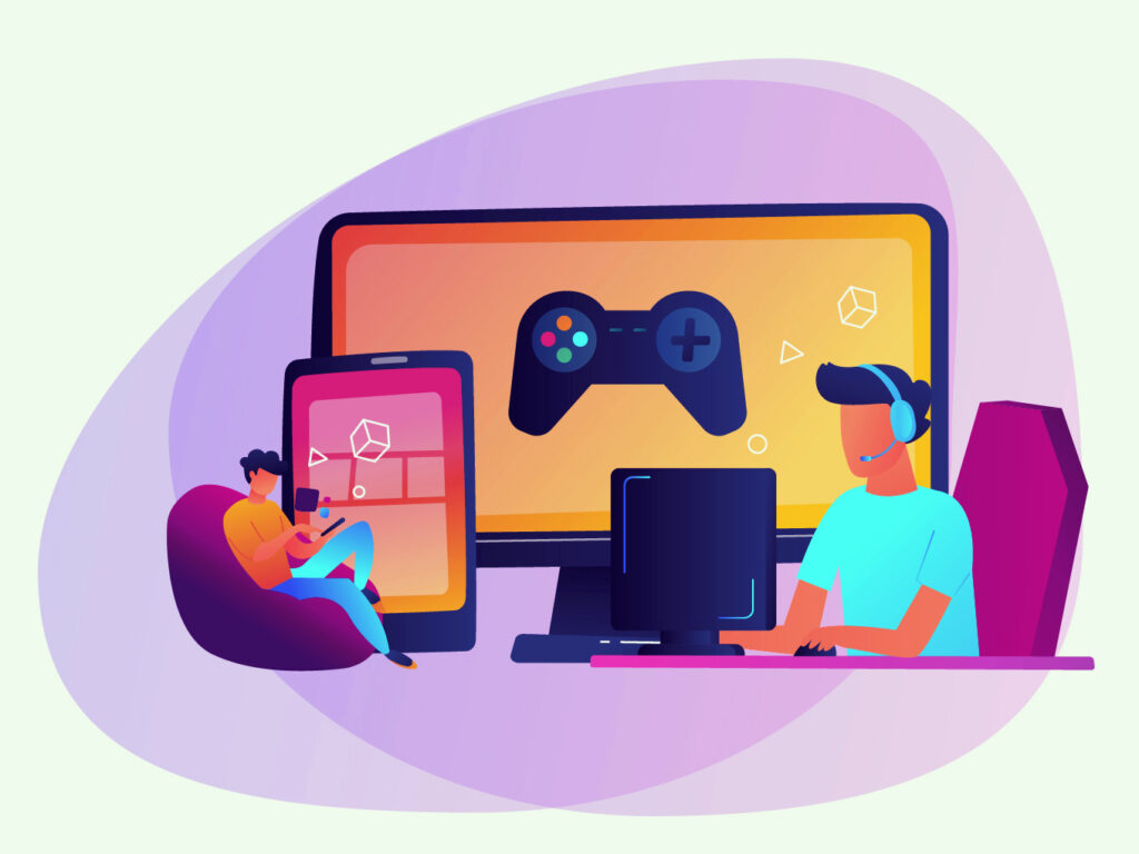Kind of People Play Games Online
